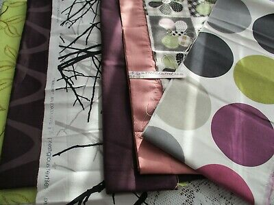 NEW PACK OF 8 x MIXED ASSORTED WEIGHT FABRICS GENEROUS SIZES 750 g no reserve