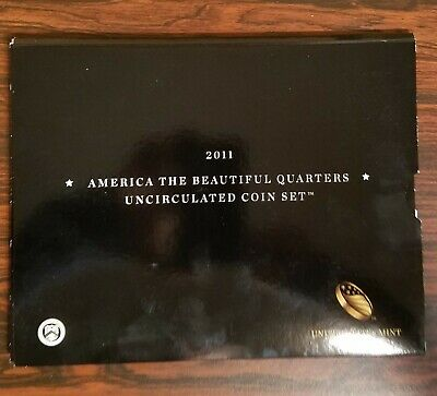 2011 P D America The Beautiful National Park Quarters Unc 10 Coins Mint Set