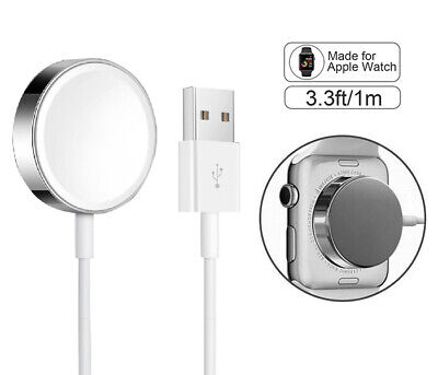 For Apple Watch iWatch Magnetic Charging Cable Charger 38-44mm Series 1/2/3/4