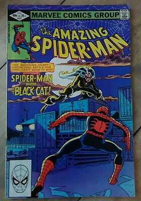 Amazing Spider-Man #227 1982 VF+ Marvel Spider-Man Comics Black Cat - 50+ FREE