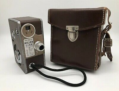 Miller Cine Model CA 8mm Camera Made In England Vintage Rare
