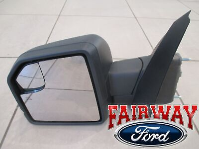 18 thru 19 F-150 OEM Ford Pwr Adj Heat Sig LH Mirror 2/26/18 & Later Build Date