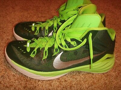 low priced 21135 8bae3 Nike Hyperdunk 2014 Gorge Green Metallic Silver 653483-303 Mens Size 10.5