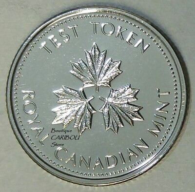Proof Like 2018 Canada Leaf Test 25 Cents Sealed in Cello