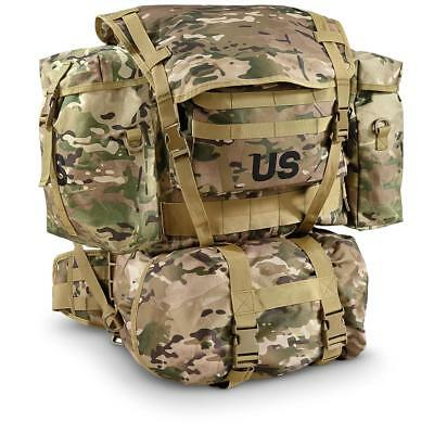 U.S. Military Surplus Pack With Frame