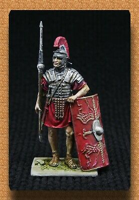 Tin soldiers Ancient Rome(54 mm,1/32) # A 174 col Roman legionary 1 century ad