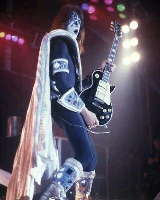 Ace Frehley 8X10 Photo Music Pop Rock & Roll Picture Guitar Kiss Close Up
