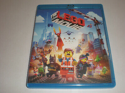 The LEGO Movie│Blu-Ray/DVD Combo│No Digital Copy│No Slipcover│Like New
