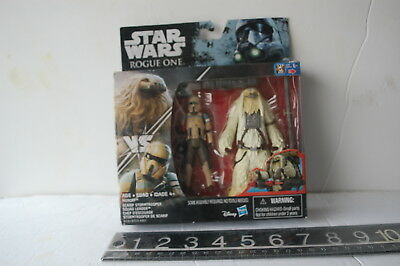 """Star Wars Rogue One - 3.75"""" figures 2 Pack Scarif Stormtrooper & Chef D'escouad"""