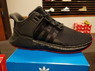 finest selection d42d8 51a25 Brand New In Box Mens Adidas Original Eqt Support Boost 93 17 Black Cq2394