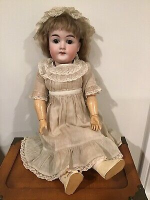 "21"" Antique German Doll Marked #287"