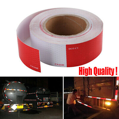 "2""x150' Reflective Conspicuity Tape DOT-C2 Safety Warning Sign Car Truck RV Boat"