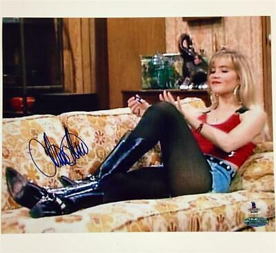 CHRISTINA APPLEGATE Autograph MARRIED WITH CHILDREN Signed 8x10 Photo ~ BAS COA