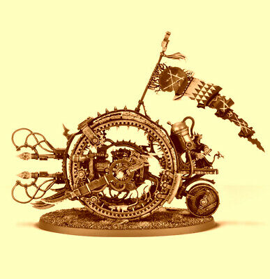 Doomwheel, Skaven, Carrion Empire, Warhammer Age Of Sigmar, NOS