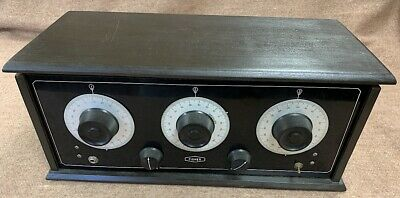 FISHER vintage the old tube battery radio receiver amplifier tuner preamplifier