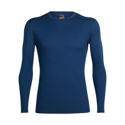 Icebreaker Oasis LS Crewe Merino Wool Thermal Top Mens- Clearance