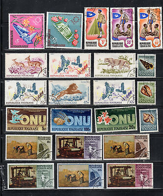Togo  Africa Stamps   Used  Lot  39133