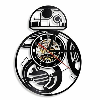 Single Face Antique Style Clock Circular Shaped Abstract Digital Wall Clocks New