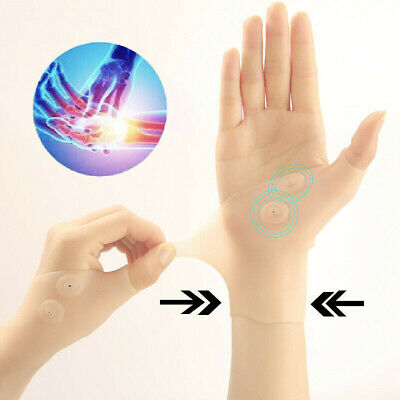 Therapy Magnetic Thumb Support Pain Relief Gloves Healthcare Corrector ZF5h