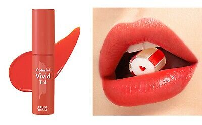 [ETUDE HOUSE] NEW Colorful Vivid Tint 4g (OR203) Pink Coral - Korea Cosmetic