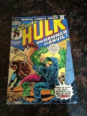 The Incredible Hulk #182    (Early Wolverine Appearance)