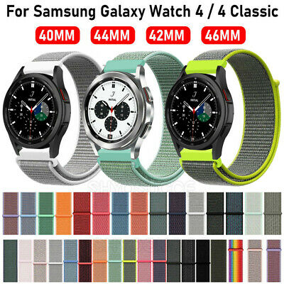 For Amazfit Bip / Ticwatch 2 Woven Nylon Sport Loop Bracelet Straps Watch Band