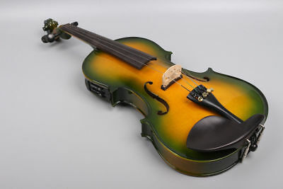 Full size Electric Acoustic Violin 4/4, Maple Spruce wood Powerful Sound