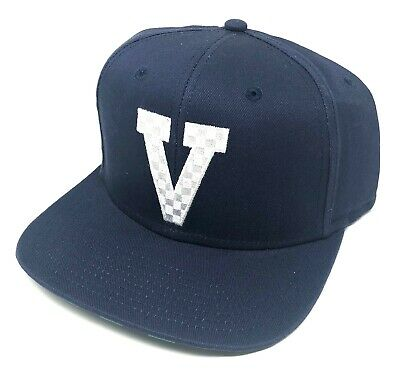 d29b7527453 VANS OFF THE Wall Men s V Embroidery-B Snapback Hat Cap - Navy Blue ...