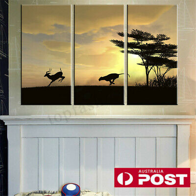 3Pcs Modern Art Canvas Print Painting Wall Picture Home Wall Decor Unframed AU
