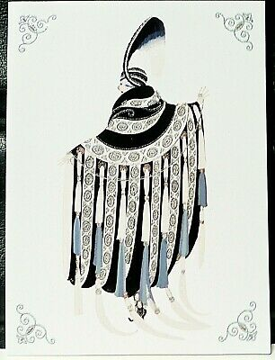 Erté Art Deco Costume 1919 Postcard Special Edition