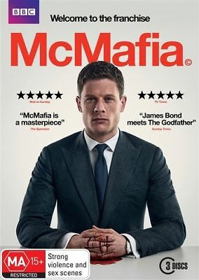McMafia (DVD, 3-Disc Set) NEW