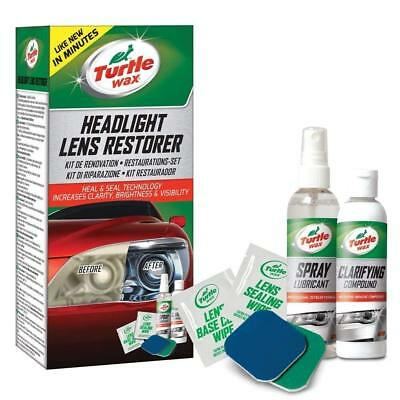 Turtle Wax 51768 Kit Restauration Phare Voiture Nettoyage Phares Auto performant