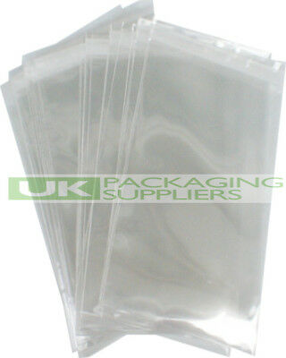 """500 CLEAR PLASTIC A4 9 x 12"""" MAILING BAGS SELF SEAL MAIL POSTAGE SACKS - NEW"""