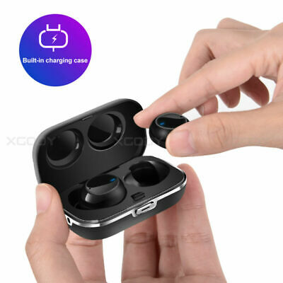 Bluetooth 5.0 Headphone TWS Mini Wireless Sport Earbuds HIFI Stereo Headset