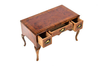 Asprey London -19th century Antique Miniature Chippendale Desk -Rare