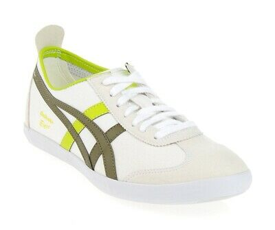 Womens Onitsuka Tiger Mexico 66 VULC D3A8N 0186 Casual White Ladies Trainers