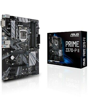ASUS PRIME Z370-P II ATX Motherboard for Intel LGA1151 CPUs