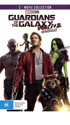 Guardians Of The Galaxy Vol 1 & 2 Movie Collection Set - Brand New Sealed R4