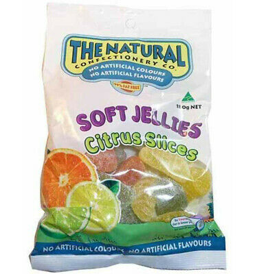 The Natural Confectionery Co. Citrus Slices 220g x 10
