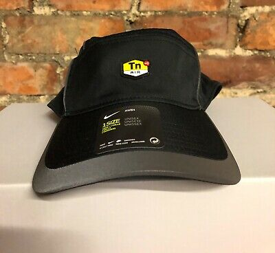 Nike Air Tn Aerobil Aw84 Baseball Cap Black Grey One Size Adjustable Fit 90a3bcc6a14