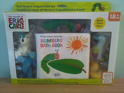 The Very Hungry Caterpillar Bath Time Set, Brand New, Aged 18 Months Plus.