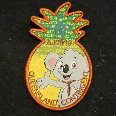 AJ2019 Queensland Contingent Badge