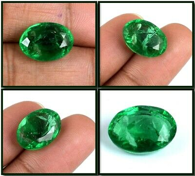 Muzo Colombian Emerald Collection 6.05 Ct 100% Natural Oval AGI Certified F7842
