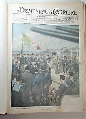 Raccolta The Domenica del Corriere 1916 dal number 1 in the number 52
