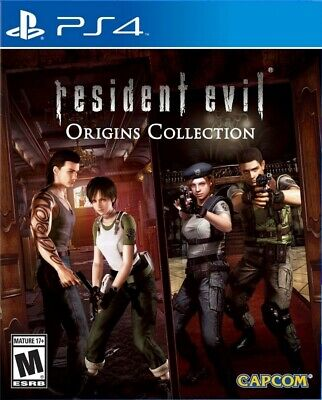 Resident Evil Deluxe Origins Collection - Resident Evil Zero + HD - PS4 - No CD
