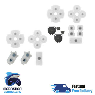 PlayStation 4 Ps4 Dualshock Conductive Rubber Pads Controller Repair Parts