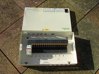 Schneider SEA9AN18 Acti 9 Isobar 18 Way Single Phase Distribution Board