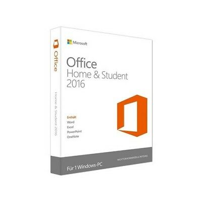 MS Microsoft Office Home and Student 2016 Online Aktivierung#1