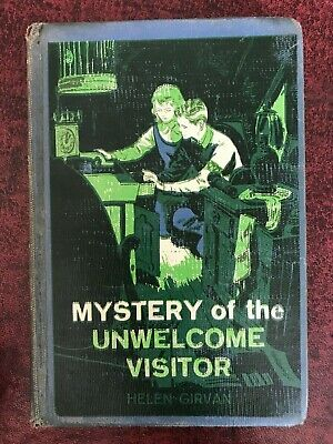 Mystery of the Unwelcome Visitor by Girvan, Helen 1961 (HC) Ex-Library