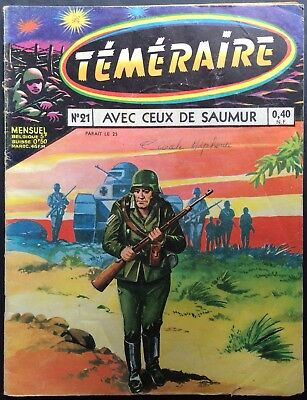 TÉMÉRAIRE no.21 With those of Saumur Editions Artima june 1960 Good condition